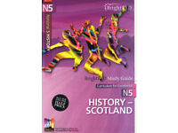 National 5 History Book - History of Scotland by BrightRed publishing