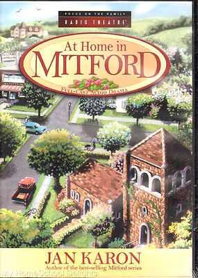 New AT HOME IN MITFORD Focus on the Family Radio Theater Audio Drama 6-CD Set