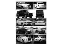 Wedding Car Hire London - Bentley Flying Spur - Mercedes G class- E Class - Rolls Royce Phantom prom
