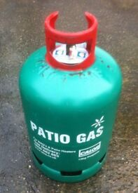 Calor Patio Gas 13kg Suitable for BBQ's and Patio Heaters - New full with seal fitted