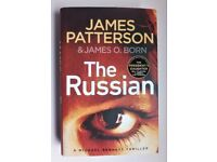 New James Patterson The Russian hardback book