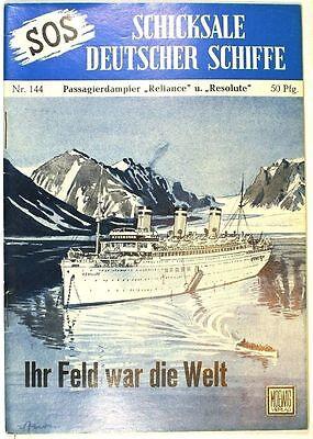 SOS Schicksale deutscher Schiffe Band 144 in Z1