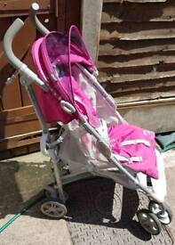 Graco nimbly pushchair - Berry colour.