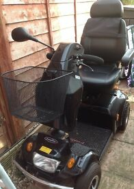 Freerider City Ranger 6 mobility scooter. Comfy robust scooter with solid tyres..