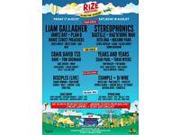 Rize festival weekend ticket