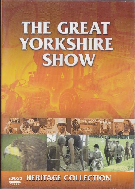THE GREAT YORKSHIRE SHOW - HERITAGE. Docu Filmed Over 3 Years At The Show (DVD)