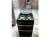 Cannon CH60GCIK 'Carrick' 60cm Gas Cooker with Gas Double Ovens, Grill & Hob/Lid VERY CLEAN