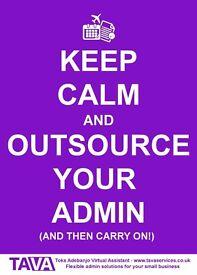 Virtual Assistant Services ★ Admin ★ Recruitment ★ Research ★ Edinburgh / Musselburgh
