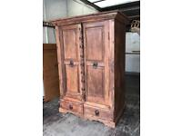 20th Century Indian Teak Cupboard
