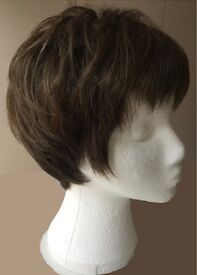 Medium brown wig by Sentoo Collection - never worn.