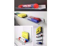 Aluminium Whiteboard Marker Pen Tray (Magnetic or Adhesive)