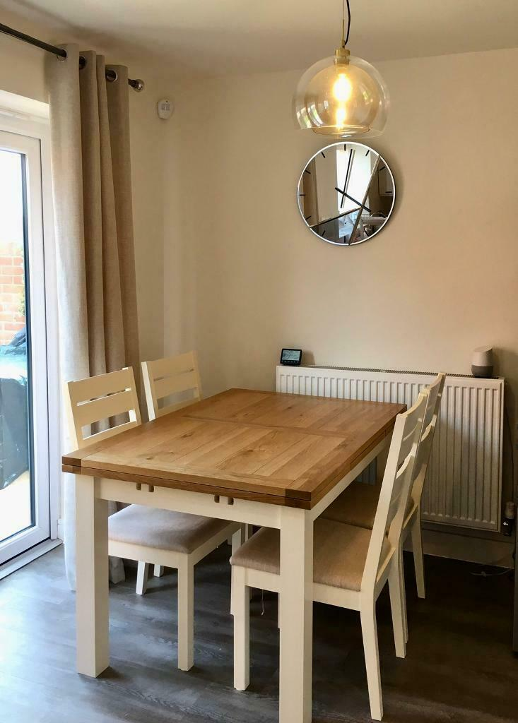 Extending Dining Table And 4 Chairs In Littleover