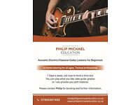 GUITAR TUITION WITHIN YOUR OWN HOME