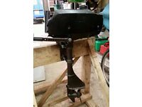 Tohatsu 2.5hp 2 Stroke Outboard, Just Serviced