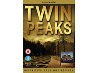 TWIN PEAKS Definitive Gold Box 10 Discs SEASON ONE AND TWO series 1 & 2 complete