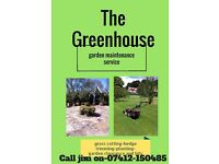 The Greenhouse Garden maintenance services