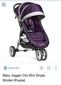 Baby jogger - city mini in purple
