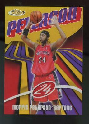 2003 Topps Finest Gold Refractor #81 Morris Peterson 01/25
