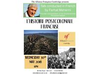 Talk - L'histoire post-coloniale française