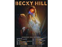 2x Becky Hill Tickets @ London O2 Brixton Academy - Thursday 13th October 2021