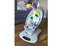 4moms mamaRoo4, immaculate condition, latest model, with newborn insert.