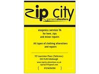 Zip City - Alterations