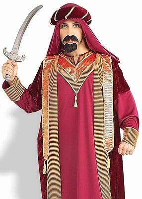 Sultan Costume Mens Adult Arabian Night Aladdin Sheik Shiek Prince Knight - Fast - Arabian Mens Costume