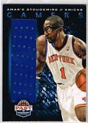 Amare Stoudemire Jersey Card Knicks