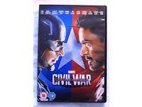 Captain America- Civil War (Film DVD)