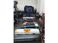 Honda Civic eg hatch & Integra type r bumpers