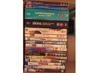 Bundle of DVDs and CDs for Sale!