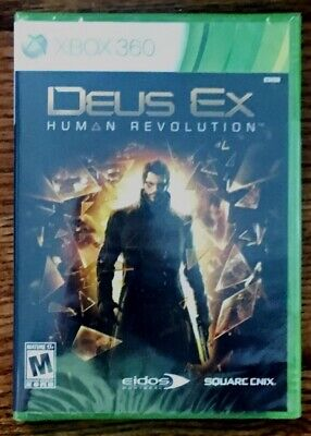 XBOX 360 - Deus Ex Human Revolution *NEW* Unopened, used for sale  Shipping to Nigeria