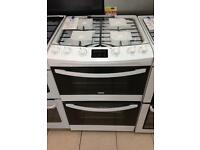 ***NEW Zanussi 60cm wide gas cooker for SALE with 1 year warranty***