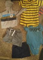 Mostly new baby clothes 6-12 mth