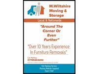 M.Wiltshire Moving & Storage.