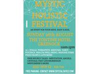 Mystic & Holistic Festival - Mind, Body & Soul The Tontine Hotel Greenock 11am-5pm