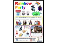 LGBT party for people with learning disabilities on 27th feb 6.00-8.00 at the castle pub norwich