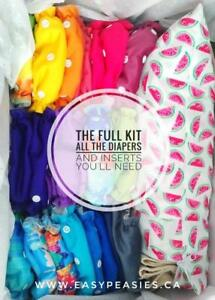 Not your momma's Cloth diapers! Easy Peasies, Cloth diapers simplified.