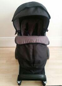 Black Mothercare Roam pram/pushchair & car seat