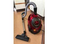 Powerfull red vacuum cleaner