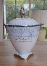 Limited edition large Wedgwood Urn/Vase - Campagna Millennium