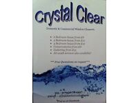 CRYSTAL CLEAR WINDOW CLEANERS