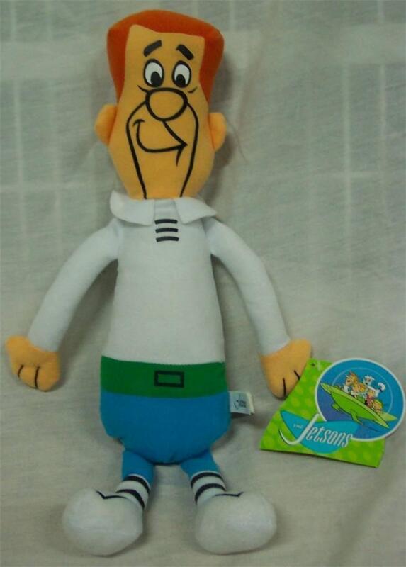 "Hanna-Barbera The Jetsons GEORGE JETSON 15"" Plush STUFFED ANIMAL Toy NEW"
