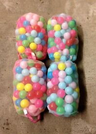 Chad Valley 4x Bags of 100 Playballs