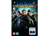 The great Wall DVD unopened