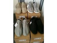 Men Women Adidas Yeezy 350 Boost Trainers Runners Moonrock Pirate Black Oxford Turtle Dove