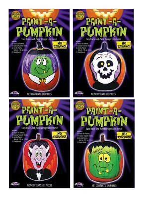 Paint A Pumpkin Kit (Paint-a-Pumpkin Box Kit - Customize Your Halloween- Monster, Vampire, Skull,)