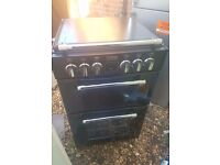 Very Good Condition STOVES Cooker & Hob (RRP £549) Electric Cooker- Black -