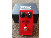 Dynamic Compressor Guitar Pedal from MXR dunlop - perfect condition