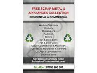 FREE SCRAP METALS COLLECTION SOUTHAMPTON & SURROUNDING ( NO CATCHES )